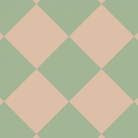 rose/green print